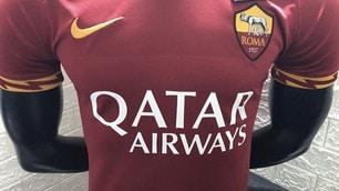 Roma, i social svelano la nuova prima maglia