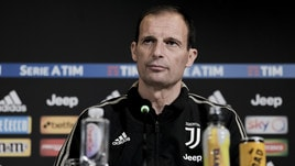 Allegri: «Festa scudetto? Dopo l'Ajax. Ronaldo out»
