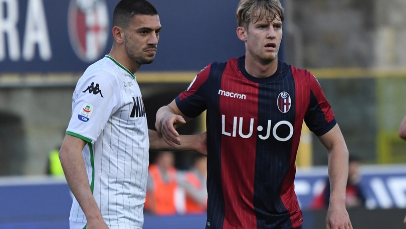 Serie A Bologna, differenziato per Helander e Mattiello