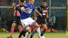 Serie A Sampdoria, Andersen torna a lavorare in gruppo