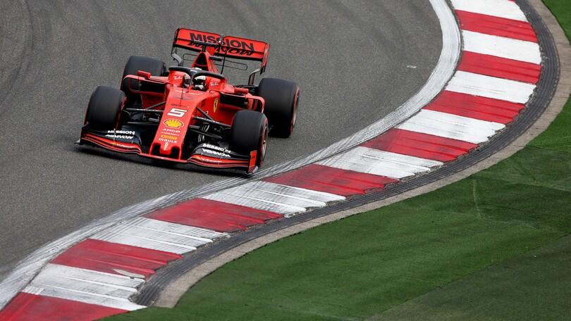 F1 Gp Cina: diretta qualifiche alle ore 8