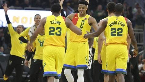 NBA playoff, Milwaukee e Houston: nessun problema