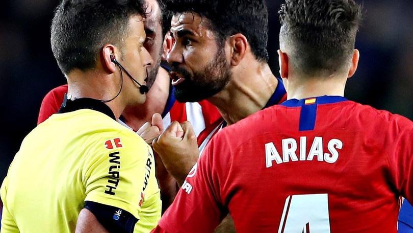 Liga, squalifica Diego Costa: respinto il ricorso dell'Atletico Madrid