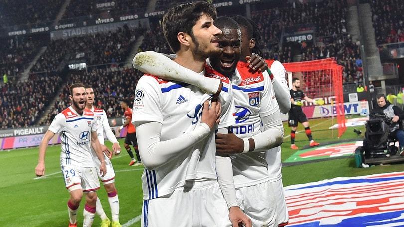 Ligue 1, il Lione vince in rimonta a Bordeaux