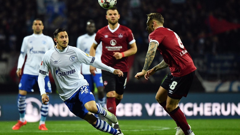 Bundesliga, Nastasic risponde a Kubo: 1-1 tra Norimberga e Schalke