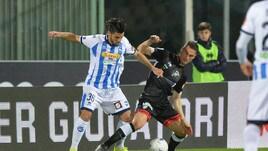 Serie B, Pescara-Perugia 1-1: Vido risponde a Memushaj