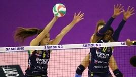 Volley: A1 Femminile, sabato sera in campo per Gara 2 dei Quarti