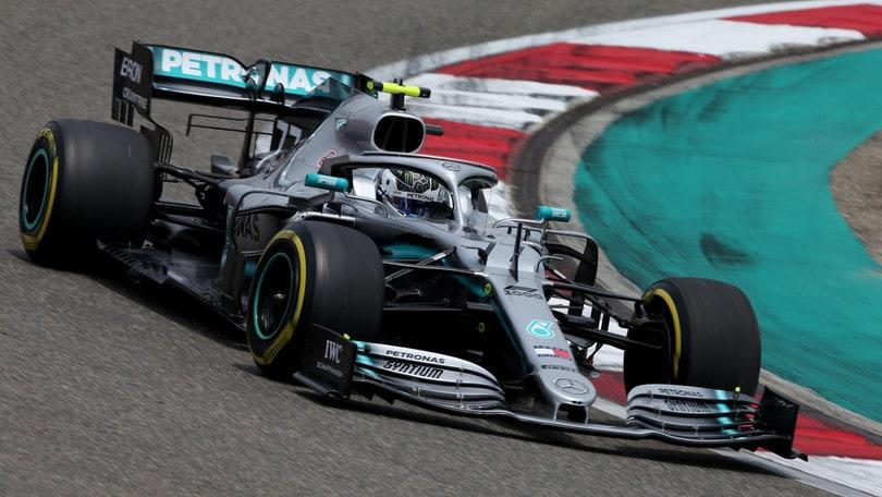 F1, Gp Cina: griglia di partenza, Bottas in pole