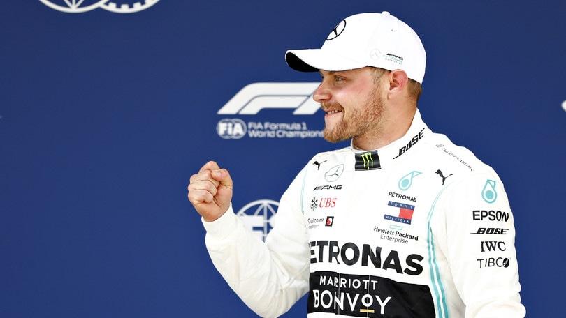 F1 Mercedes, Bottas: «Attaccheremo di sicuro»