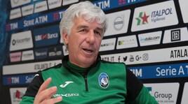 Gasperini: «Resto all'Atalanta e in Champions»