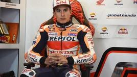MotoGp Honda, Marquez: «Giornata difficile»