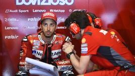 MotoGp Ducati, Dovizioso: «Abbiamo un buon passo gara»