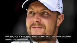 Gp Cina, solite Mercedes. Augusta Masters, comanda Molinari