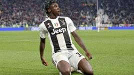 Juventus, la favola di Kean: dalla panchina alla firma sullo scudetto