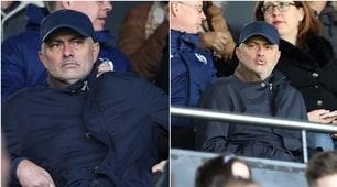Mourinhocerca squadra: in tribuna per Fulham-Everton