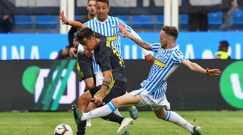 Serie A Spal-Juventus 2-1, il tabellino