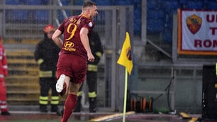 Roma di misura: Dzeko torna al gol all'Olimpico