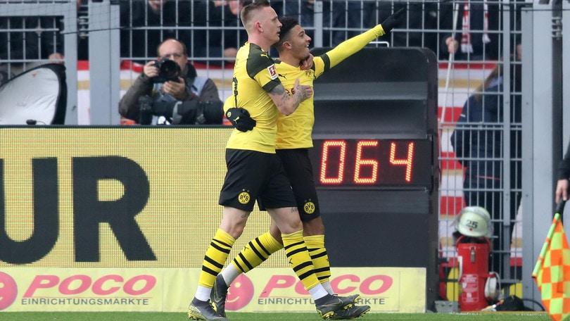 Bundesliga: Sancho regala i tre punti al Borussia Dortmund, vince ancora il Lipsia