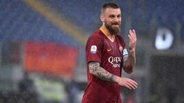 Roma, De Rossi out 3 settimane: confermata la lesione alla coscia