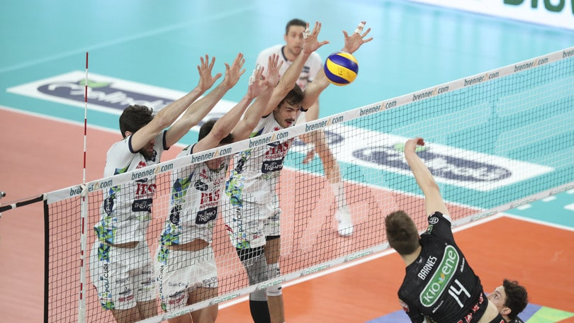 Volley: Superlega, Trento si prende di forza la Semifinale