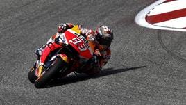 MotoGp Austin, griglia di partenza: Marquez in pole, Rossi 2°