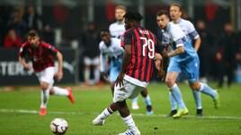 Serie A Milan-Lazio 1-0, il tabellino