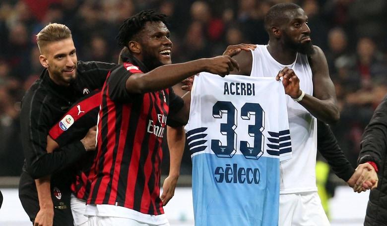 Milan-Lazio, Giorgetti: ''Maglia Acerbi? Gesto Kessi e Bakayoko stupido e indegno''