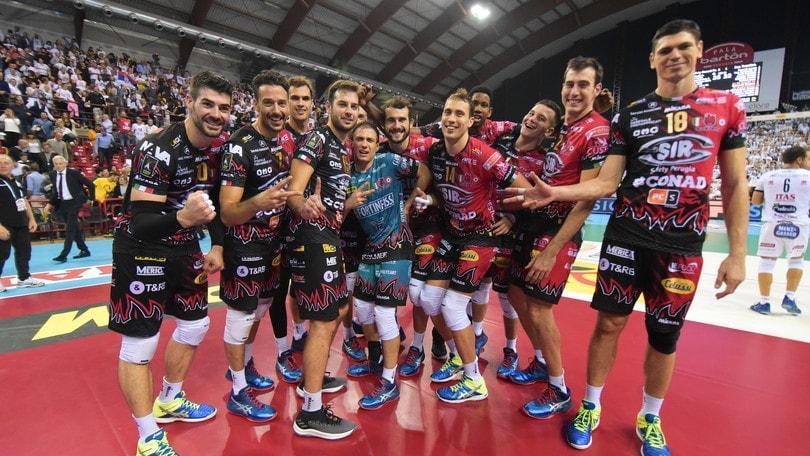 Volley: Superlega, anche Perugia è tra le quattro semifinaliste