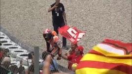 Moto Gp, Austin: Marquez si prende la pole, secondo Rossi