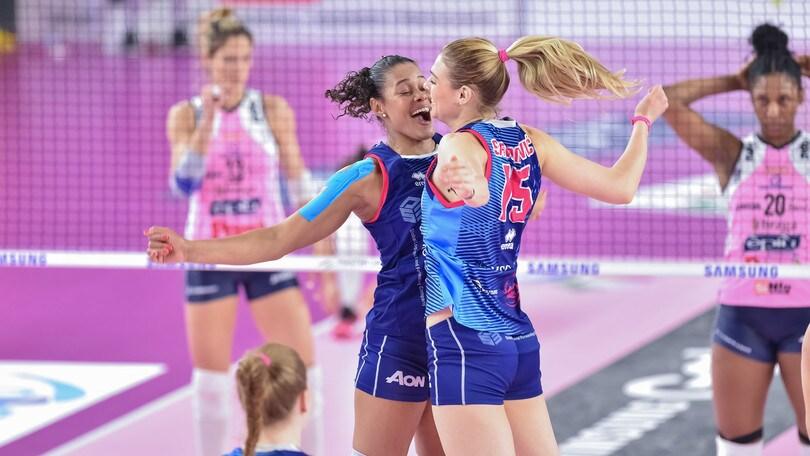 Volley: A1 Femminile, Conegliano e Scandicci in Semifinale
