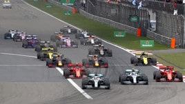 F1 Gp Cina: vince Hamilton, Vettel è terzo