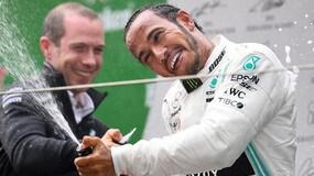 F1, Hamilton show in Cina: che gioia sul podio!