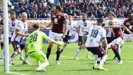 Serie A, Torino-Cagliari 1-1: Pavoletti risponde a Zaza