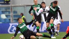 Matri e Ceravolo non sfruttano la chance: Sassuolo-Parma è 0-0