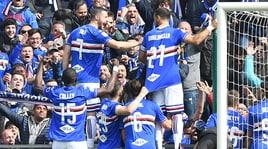 Serie A: Quagliarella show, derby alla Sampdoria. Montella parte con un pari