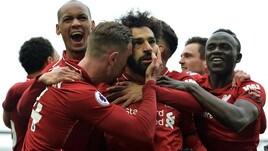 Premier, il Liverpool sfata il tabù Chelsea e vola in testa