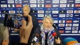 Sampdoria, Ferrero show dopo il derby