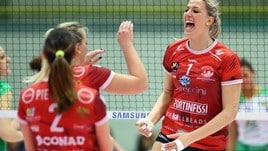 Volley: A2 Femminile, Perugia in A1 col brivido