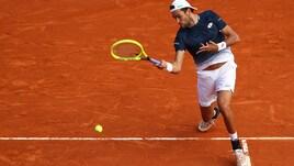 Tennis, Montecarlo: Berrettini fuori al primo turno