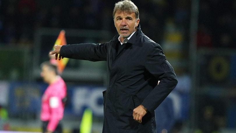 Serie A Frosinone, Baroni: «Nel primo tempo abbiamo sofferto il palleggio dell'Inter»