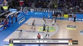 Germani Basket Brescia-Vanoli Cremona 86-89
