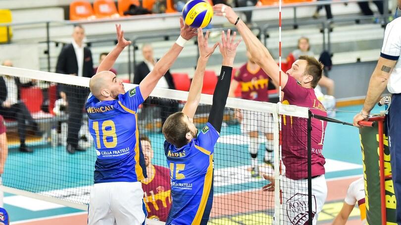 Volley: Play Off A2 Maschile, Roma, Alessano e Taviano salutano l'A2