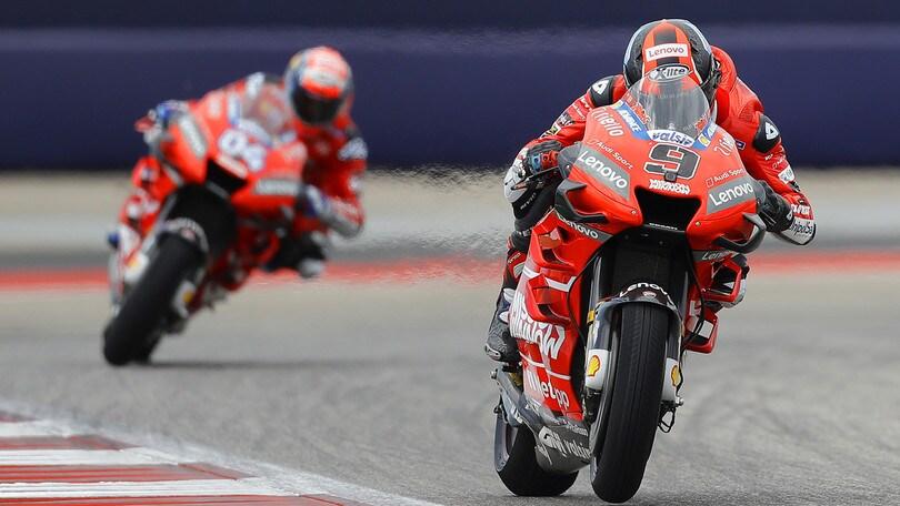 MotoGp Ducati, Dovizioso: «Contento del risultato»
