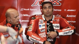 MotoGp Ducati, Petrucci: «Il team ha fatto un grande lavoro»