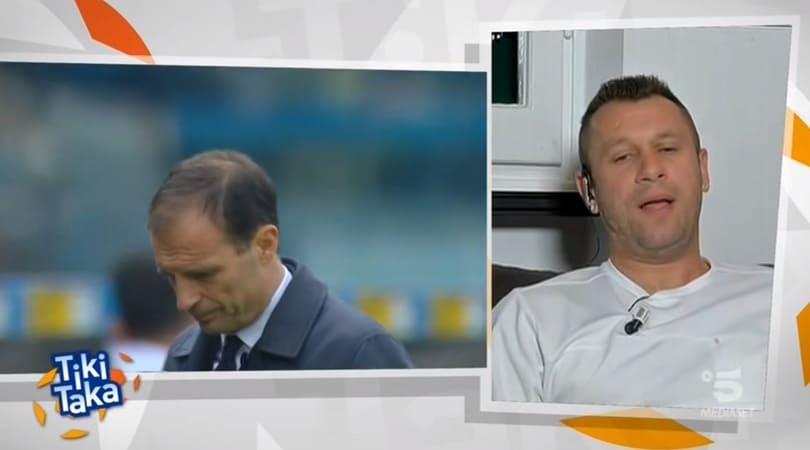 Cassano: «La Juve se l'è cercata, se schieri i ragazzini...»