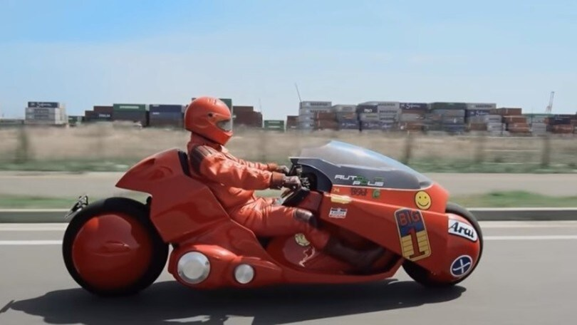 "La moto di ""Akira"" costruita in Giappone"
