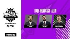 EUMasters: da oggi la diretta su ESL Italia