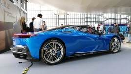 Battista Pininfarina, debutto all'ePrix di Roma