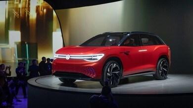 Volkswagen ID. Roomzz, il maxi suv protagonista al Salone di Shanghai