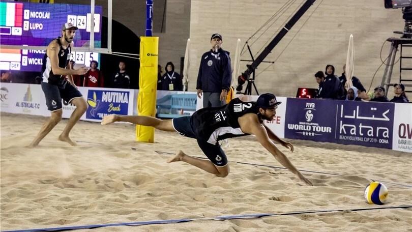 Beach Volley: infortunio alla mano per Daniele Lupo